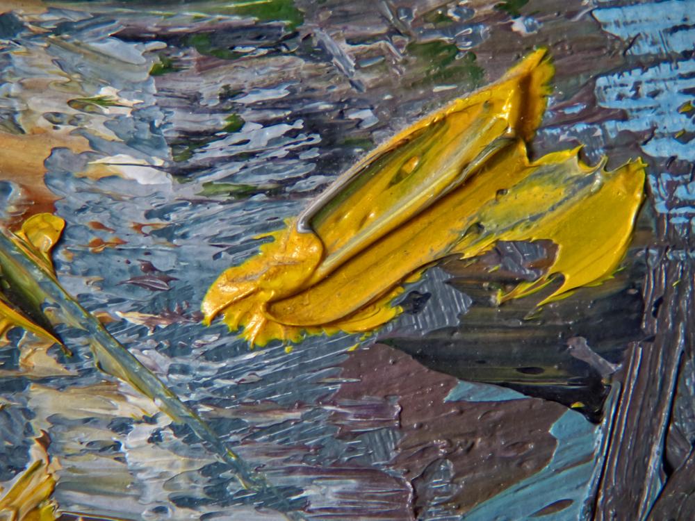 Birches unknown artist