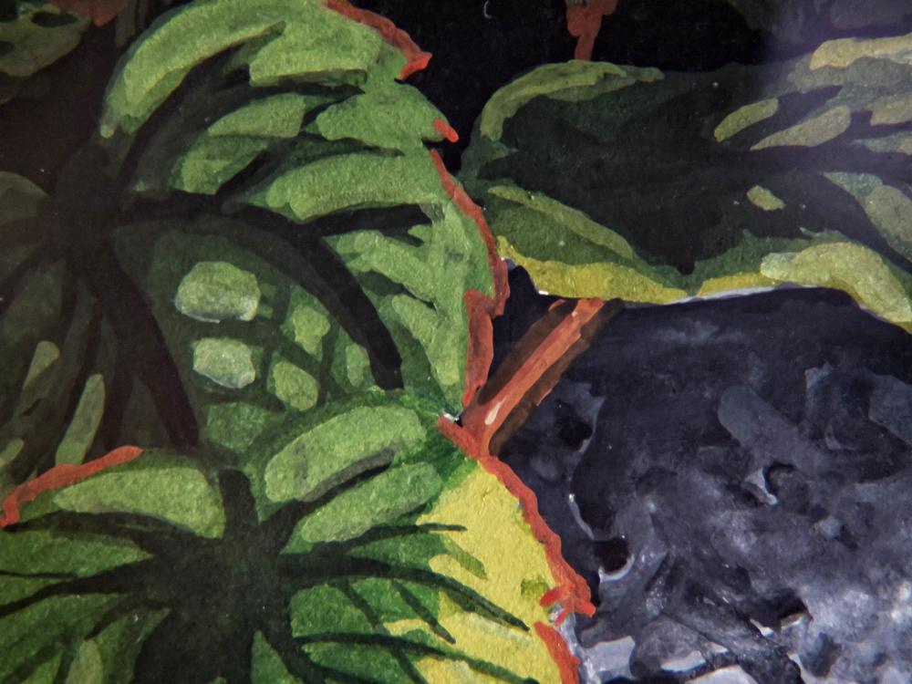 Miniature of leaves by Elizabeth VanderBrock